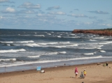 Cavendish Beach - Skip rocks, collect shells or enjoy the beautiful calm waters of the golf of St. Lawrence, all can be found a short walk from the cottages.