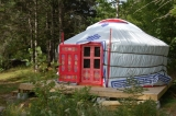 Lil' Red Mongolian Yurt