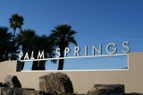 Palm Springs iconic welcome sign