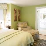 Acadia Room - This suite named after our local university is located in the main-house on the first floor.  Easily accessible for all guests, this suite features a queen-size bed, original 1860 marble fireplace, desk, TV and a big comfy chair/ottoman.  The large ensuite bathroom features an oversized walk-in shower.<br /><br />Complimentary Wi-fi