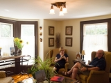 Reception / Common Area - As our guests, you are encouraged to make yourselves at home and enjoy the common areas, including the main parlor where you might find a wood burning fire and our famous chocolate chip cookies.<br /><br />Complimentary WiFi.