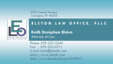 ELO Business Card - Update 5-2019