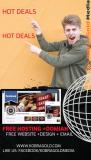 Free Website Hosting + Domain + Design