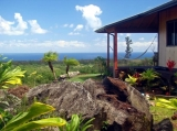 Ocean view and north side of cottage - 170 degree sweeping panorama of Pacific Ocean