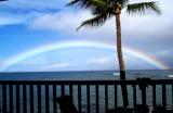 Rainbow from Lanai