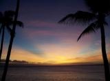 One of many beautiful sunsets