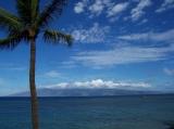 View of Moloka'i from Lanai