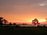 Sunrise over the Black Walnut Cove.