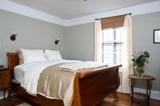 Room 4 - Room 4's, queen size sleigh bed.