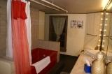 Room 6 Bath - Room 6's bath with vintage jacuzzi tub.