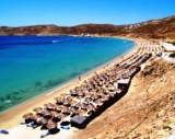 Elia Beach on Mykonos - Elia Beach on Mykonos Island is now<br />the beach where most of the gays meet, swim and play. The far end of the beach is 100%  nude: very busy from end May till mid October