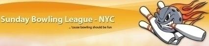 Sunday Bowling League