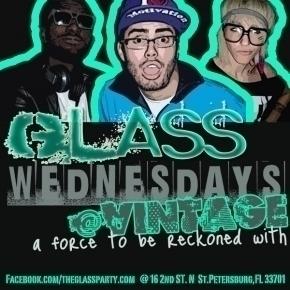 Glass Wednesdays at Vintage