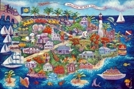 Fran Decker Key West Artist