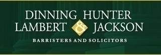 Dinning Hunter Lambert & Jackson Barristers