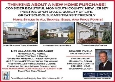 Edward Vivona, Monmouth County Real Estate