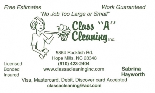 Class A Cleaning Inc