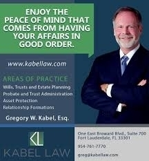 The Law Offices of Gregory W. Kabel, PA