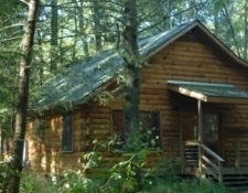 Log Cabin on Neils Creek