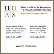 Hamilton Duncan Armstrong + Stewart Law Corporatio