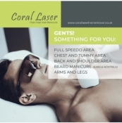 Coral Laser Permanent, Painless Hair Removal
