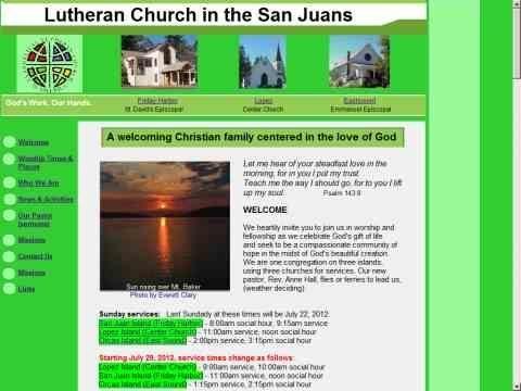 Lutheran Church in the San Juans