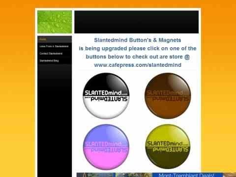 Slantedmind Pin Back Buttons