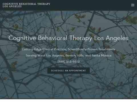 Cognitive Behavioral Therapy Los Angeles